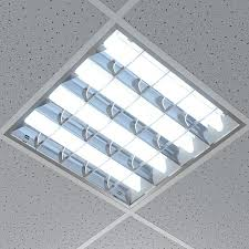 ceiling light office lamp lights tileable 3d models and textures pannelli per controsoffitto modular grid fluorescent ceiling lights for office