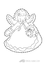 christmas angel coloring pages cherub christmas cherub pictures cherub template printable angel template for christmas kids activities to color and cut at