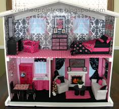 diy barbie house by over the apple tree barbie doll furniture diy