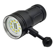 Diving Light <b>Underwater</b> 100m 10X <b>XML2</b>+4xRed+4xBlue <b>LED</b> ...