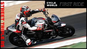 2020 <b>Triumph Street Triple</b> RS Review - YouTube