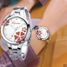 <b>Kimio Brand Women Bracelet</b> Wristwatch Ladies Quartz Watch ...