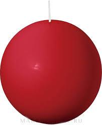 <b>Bolsius</b> Candle - <b>Свеча круглая</b>, красная, 80 мм | Makeupstore.ru