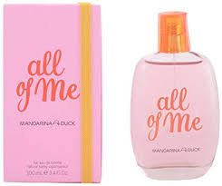 <b>Mandarina Duck ALL OF</b> ME Woman Eau de toilette spray 100ml ...