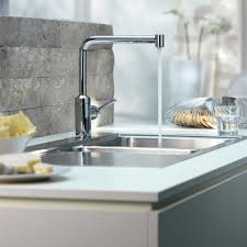 attractive kitchen faucet design for kitchen and bathroom ideas best contemporary kitchen faucet with white cabinet and lighting