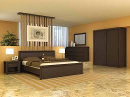 zones bedroom wallpaper: natural themed bedroom with earth colors decorated by green indoor plants
