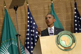 Image result for obama at the african union