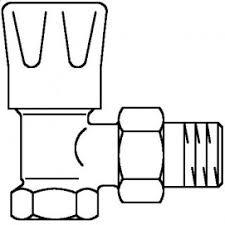 """Серия """"<b>HRV</b>"""", <b>вентиль Oventrop</b> с ручным приводом Ду10, 3/8 ..."""