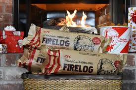 KFC Fried Chicken Firelog Already Sold Out