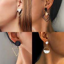 X&P <b>New Korean</b> Heart Statement Drop <b>Earrings</b> 2019 for Women ...