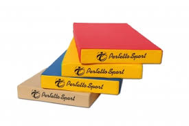 <b>Мат Perfetto Sport</b> № 1 (100 х 50 х 10) сине/жёлтый купить в ...