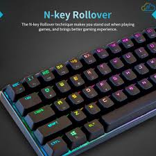 <b>Magic</b>-<b>Refiner MK14</b> RGB Backlight Keyboard 68 Keys Metal Panel ...