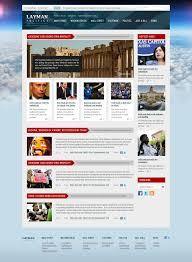 newspaper website template template newspaper website template