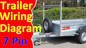 7 pin trailer wiring diagram harness youtube Wiring 7 Pin Trailer Wiring Diagram 7 pin trailer wiring diagram harness wiring 7 pin square trailer wiring diagram