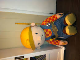 inch bob the builder plush help toy discussion at com 40 inch bob the builder plush help
