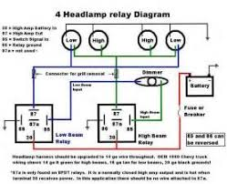 similiar 4 headlight system relay diagram keywords 4 headlight system relay diagram