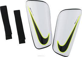 "<b>Щитки Nike</b> ""Mercurial Hardshell"", <b>цвет</b>: <b>белый</b>. SP2101-100 ..."
