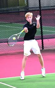 tennis team drop 2 3 decisions to bainbridge local sports drew davis
