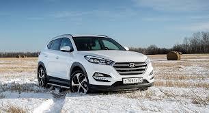 Кроссовер Hyundai Tucson получил в России новые комплектации