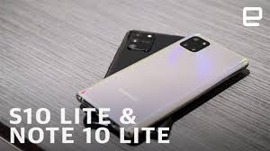 Samsung Galaxy <b>S10</b> Lite and Note <b>10</b> Lite hands-on at CES <b>2020</b> ...