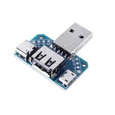 <b>3pcs USB Adapter Board</b> Male to Female Micro Type-C 4P 2.54mm ...