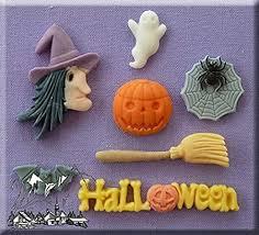 <b>Halloween</b> - <b>Silicone</b> Icing Moulds for <b>Cake</b> and <b>Cupcake</b> Decoration