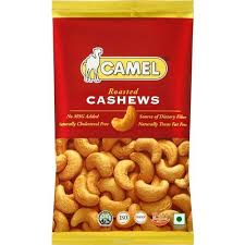 <b>Кешью жареный</b> roasted salted cashews <b>подсоленный Camel</b> 40 г