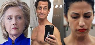 Image result for epstein and anthony weiner