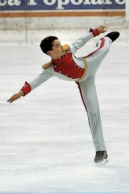 figure skating javier fern atilde iexcl ndez the new king of spanish sport javier as a 13 year old on ice
