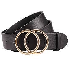Earnda Women's <b>Leather Belt Fashion</b> Soft Faux Leather Waist Belts ...