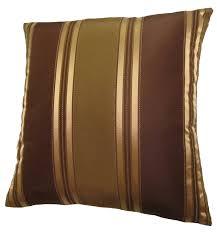 amazoncom x bronze gold and brown stripes decorative throw