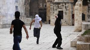 Risultati immagini per palestinian violence temple mount 26 july