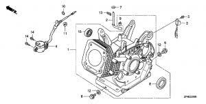 <b>Honda ECT7000K1</b> RG - выбор раздела, купить запчасти.