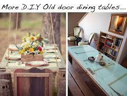 left pic of hanging door table via here right pic via here for amazing awesome coffee amazing hanging dining room