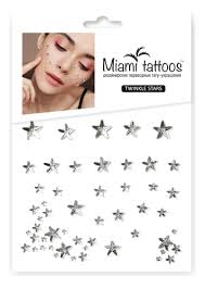Купить <b>кристаллы</b>-<b>стразы для лица twinkle</b> stars Miami Tattoos ...