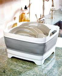 Collapsible Wash Basin <b>Portable Sink Kitchen</b> Dishes Hand ...