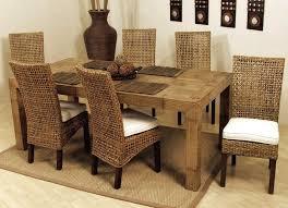 rattan dining chair table en dh