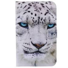 Shop White Leopard Design <b>PU Leather Flip Cover</b> Wallet Card ...