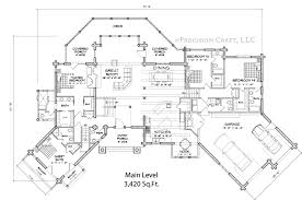 Blue Ridge Lodge Home Plan by PrecisionCraft Log  amp  Timber Homes    BlueRidge lg main