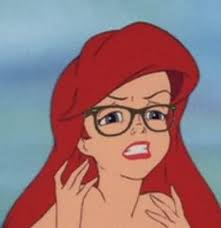 Hipster Ariel Blank Meme Template - Imgflip via Relatably.com