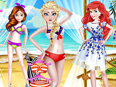 <b>Summer Beach</b> Outfits - free online game