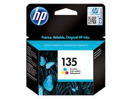 <b>HP 135</b>, Оригинальный струйный <b>картридж HP</b>, Трехцветный ...