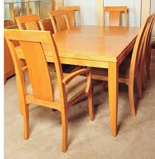 allen miller table dining room chairs sets blonde wood ethan allen dining table set for dining room furniture ide
