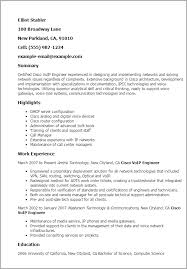 professional cisco voip engineer templates to showcase your talent    resume templates  cisco voip engineer