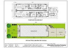 Home Design Single Floor   ChrisSingle Story Narrow