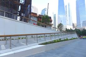 tribeca citizen what s new at the world trade center access ramp at liberty park in the world trade center
