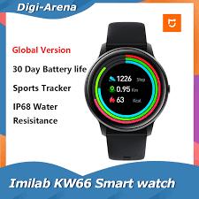 <b>Imilab KW66</b> Smart Watch Sport Metal Heart Rate Sleep Monitor ...