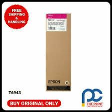 New & Original <b>Epson T6943</b> UltraChrome XD <b>700ml Magenta</b> ...