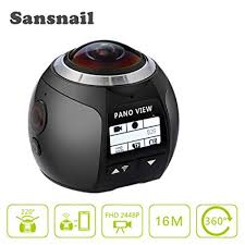 New Released 360 Panoramic Video Camera 4K ... - Amazon.com