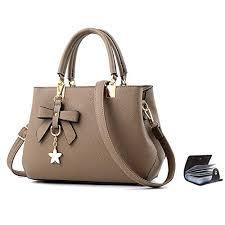 #4 URAQT <b>Womens</b> Handbags Shoulder <b>Bags</b>, PU Leather Ladies ...